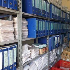 Giá kệ sắt để hồ sơ tài liệu và sách thư viện Hòa Phát GS5K2