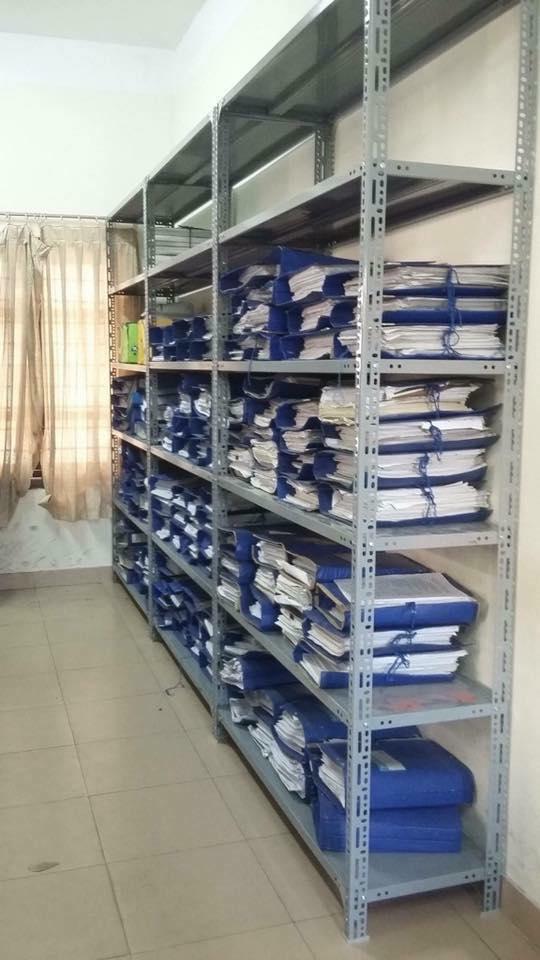 Giá kệ sắt để hồ sơ tài liệu và sách thư viện Hòa Phát GS5K3B