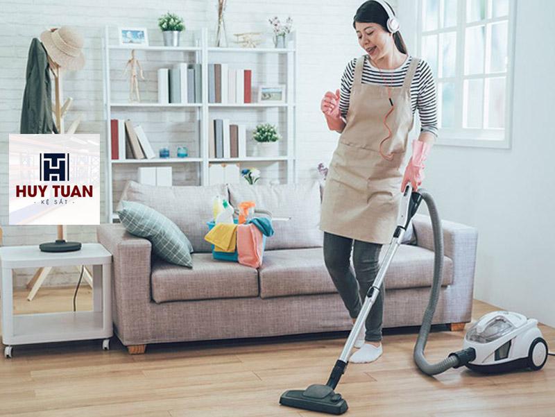 Cách dọn dẹp nhà cửa gọn gàng